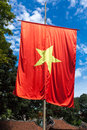 Vietnamese flag Stock Images