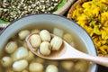 Vietnamese food, sweet lotus seed gruel Royalty Free Stock Photo