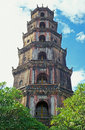 Vietnamese Pagoda Stock Photo