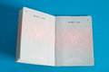 Vietnamese passport Royalty Free Stock Photo