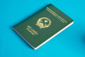 Vietnamese passport Royalty Free Stock Photo