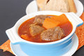 Vietnamese traditional beef stewed also called bo kho in Stock Image