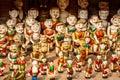 Vietnamese water puppets at hanoi vietnam Stock Photo