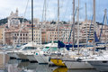 Vieux port of marseille Royalty Free Stock Photos