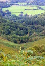 View across devon countryside Royalty Free Stock Photography