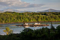 View Across the Menai Straits Royalty Free Stock Images