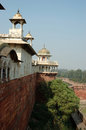 View from Agra fort wall,Uttar Pradesh,India Royalty Free Stock Images
