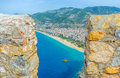 The view from Alanya castle