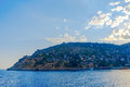 View of Alanya peninsula Royalty Free Stock Photo