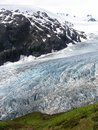 View of Alaska ice sheets and Glaciers Royalty Free Stock Photos