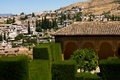 View from Alhambra Royalty Free Stock Photo