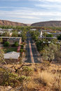 View of Alice Springs Stock Photo