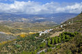 View of the Alpujarras Stock Photos