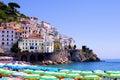 View of Amalfi Stock Photography