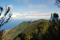 View from the anaga mountains tenerife Stock Photography