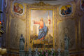 View of the apse in the duomo of palmanova italy Stock Photography