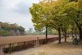 View around Osaka castle