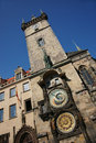 View astronomical clock tower prague czech republic Royalty Free Stock Photography
