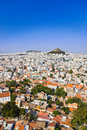 View of Athens from Acropolis, Greece Stock Photography