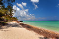 View of the atlantic ocean varadero cuba beautiful Stock Photos