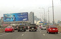 View bangkok toll expressway fast pace modern life changing culture developing modern asian city bangkok thailand booming economy Royalty Free Stock Photography