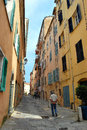 View of bastia corsica france Royalty Free Stock Photos