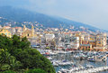 View of bastia corsica france Royalty Free Stock Photo