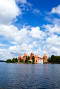 View of beautifu castle Trakai Royalty Free Stock Photography
