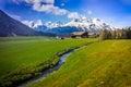 View from the Bernina Express Royalty Free Stock Photo