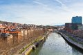 View of Bilbao, Vizcaya, Spain Royalty Free Stock Photography
