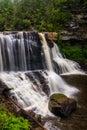 View of Blackwater Falls, at Blackwater Falls State Park, West V Royalty Free Stock Photo
