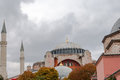 View on the blue mosque sultanahmet camii istanbul turkey Stock Image