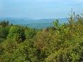 View of the Blue Ridge Mountains Royalty Free Stock Photo