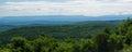 View of the Blue Ridge Mountains, Virginia, USA Royalty Free Stock Photo