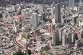 View on Bogota Royalty Free Stock Photo