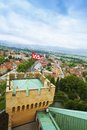 View from Bojnice castle