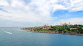 View of the Bosporus and Istanbul Stock Image