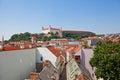 View of Bratislava Castle (founded in IX c.). Bratislava, Slovak