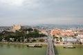 Pohľad na Bratislavu od Dunaja