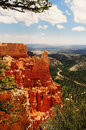 A view from bryce canyon national park Stock Images