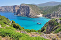 View of Cala Domestica beach, Sardinia, Italy Royalty Free Stock Photo