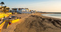 View of Caleta Beach. Cadiz, Spain