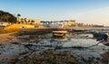 View of Caleta Beach in Cadiz