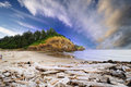 A View From Cape Disappointment Royalty Free Stock Photo