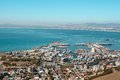 View of Cape Town Harbor Royalty Free Stock Images