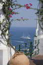 View from Capri. Stock Photo