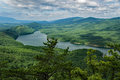 A View of Carvins Cove from the Appalachian Trail Royalty Free Stock Photo