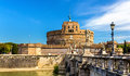 View of Castel Sant'Angelo in Rome Royalty Free Stock Photo