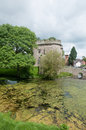 View of the castle whittington in shropshire in england Royalty Free Stock Images