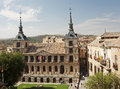 View of the Cathedral of Toledo Royalty Free Stock Images